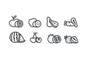 Fruit vector icoon