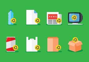 Recycleer ding vector