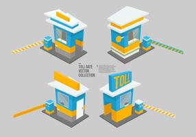 Toll Gate Vector Collectie