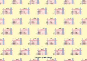 80's stijl vector patroon