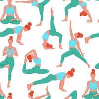 vrouwen die yoga uitoefenen