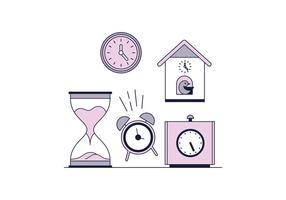 Gratis Horloges Vector