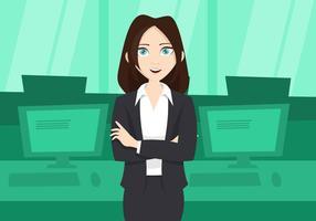 Vrouw Illustratie vector