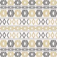Azteeks stammenpatroon met geometrische vormen