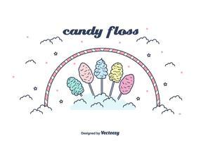 Candy Floss Vector