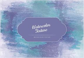 Vector Waterverf Groene En Blauwe Textuur