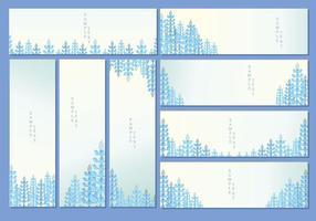 Bluebonnet banner vector