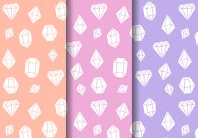 Gratis Sparkly Gems Patroon vector