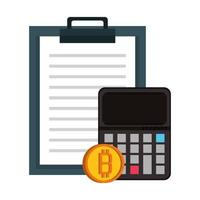 bitcoin cryptocurrency digitale geldsymbolen