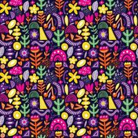 naadloze patroon met organische vormen