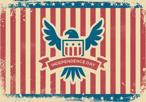 Grunge Independence Day Background