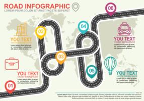 Roadmap Infographic vector