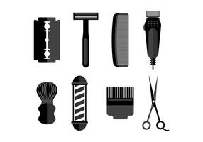 Gratis Shaver Vector Pictogrammen