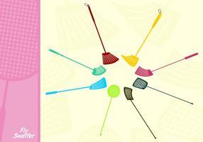 Plastic Fly Swatter Gratis Vector
