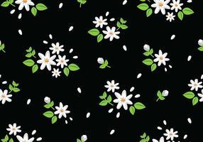 Bloemen Naadloos Patroon vector