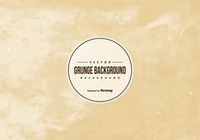 Bruine Vector Grunge Achtergrond