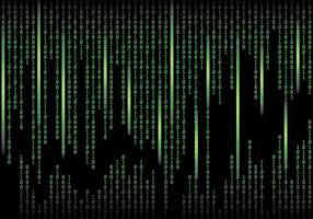 Matrix Achtergrond Vector