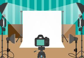 Fotograaf Studio Vector