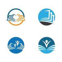 boek pictogramserie vector