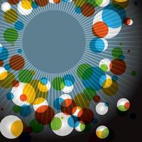 abstracte kleur burst achtergrond vector