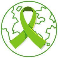 wereld geestelijke gezondheid dag pictogram vector