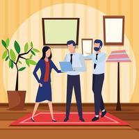 ondernemers en co-working concept