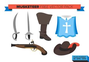 Musketeer Gratis Vector Pack