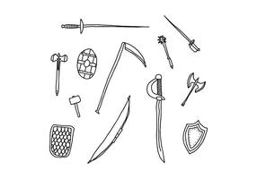Armory Doodles vector