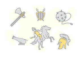 Vrij Uitstaande Cavalry Vectors