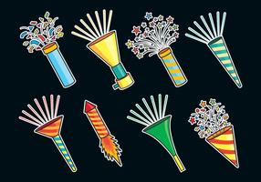 Noise Maker Icons vector