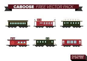 Caboose Gratis Vector Pakket