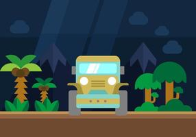 Offroad Illustratie vector