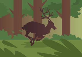 Caribou run vector