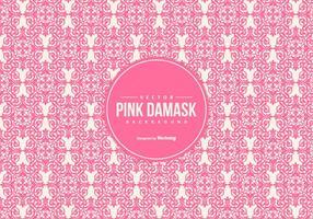Mooie Roze Damast Achtergrond