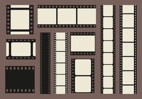 Foto Edges Filmstrip Vector
