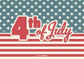 Vierde juli Achtergrond vector