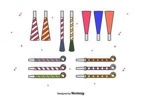 Geluidsmaker vector set