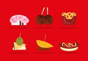 Appetizers Illustratie Pack Vector