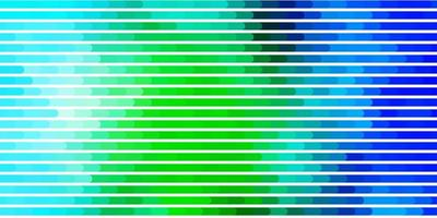 lichtblauw, groen sjabloon met lijnen.