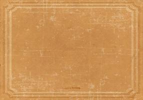 Vector Grunge Vintage Frame Achtergrond