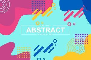 abstract ontwerp met dynamische vloeibare vormen
