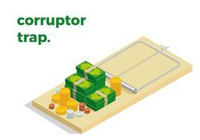 Muis Trap Corruptor Gratis Vector