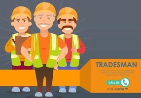 Contacteer een Tradesman