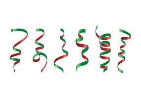 Scheidende kerstvrije vector