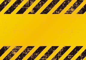 Grunge Gevaar / Voorzichtigheid Achtergrond