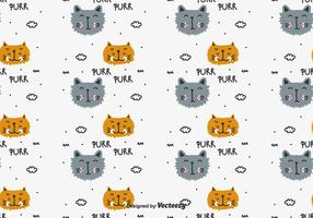 Purr Vector Patroon