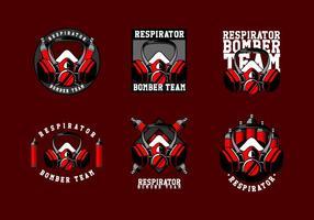 Respirator Logo Gratis Vector