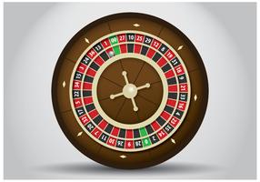 Gratis Roulette Tabel Vector