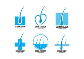 Dermatologie Logo Template vector