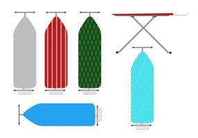 Platte Strijkplank vector